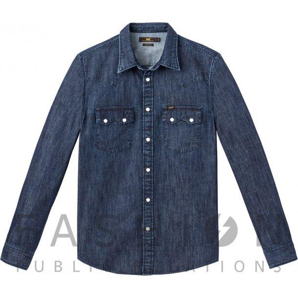 LEE Rider Shirt Blueprint