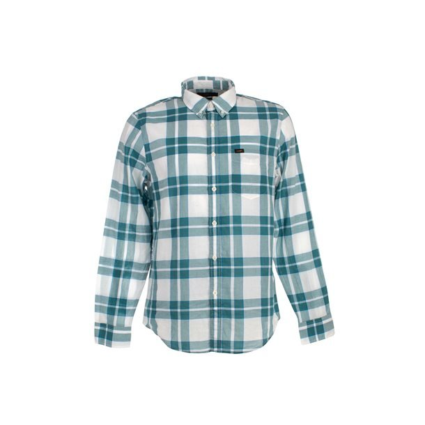 Lee Button Down Faded Green