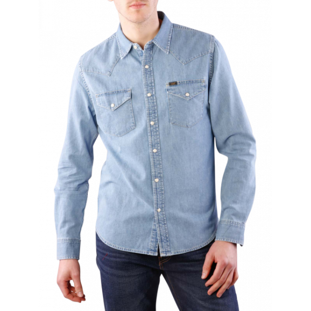LEE Western Shirt Heather Blue