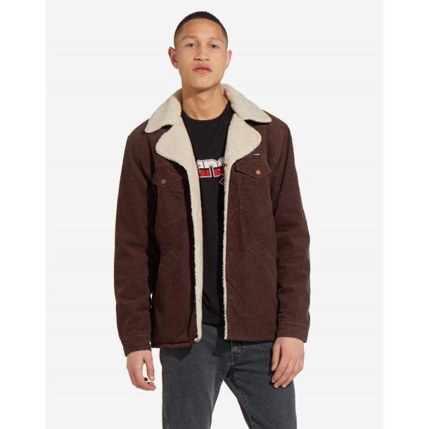 Ranch Coat chocolate Brown