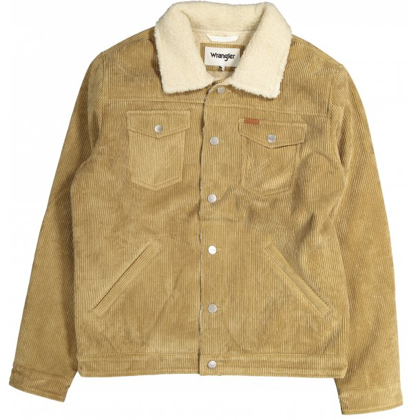 Cord Trucker Clay Beige Jacket