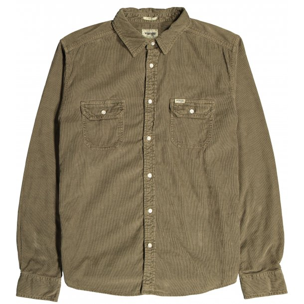 2 PKT Flap shirt Army Green