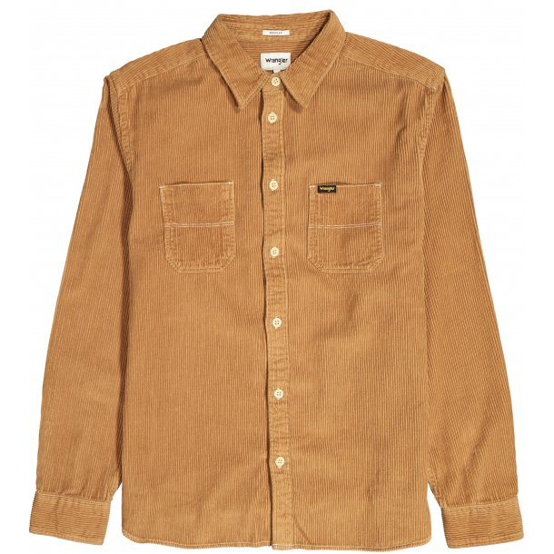 2 PKT Flap Overshirt Chipmunk