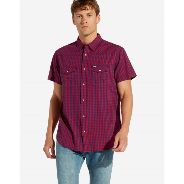 Western Shirt High Risk Red