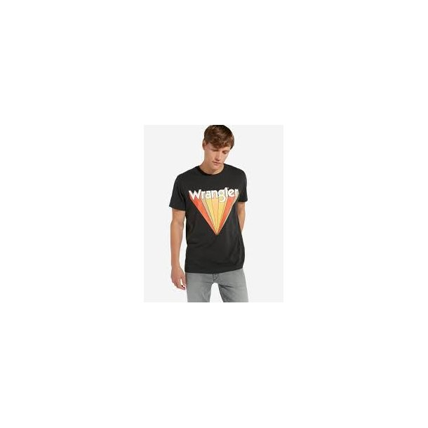 Graphic Tee Faded Black
